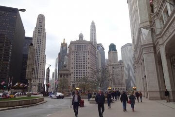 Downtown. Magnificent mile. Bilder und Eindrücke aus Chicago, Illinois, United States.