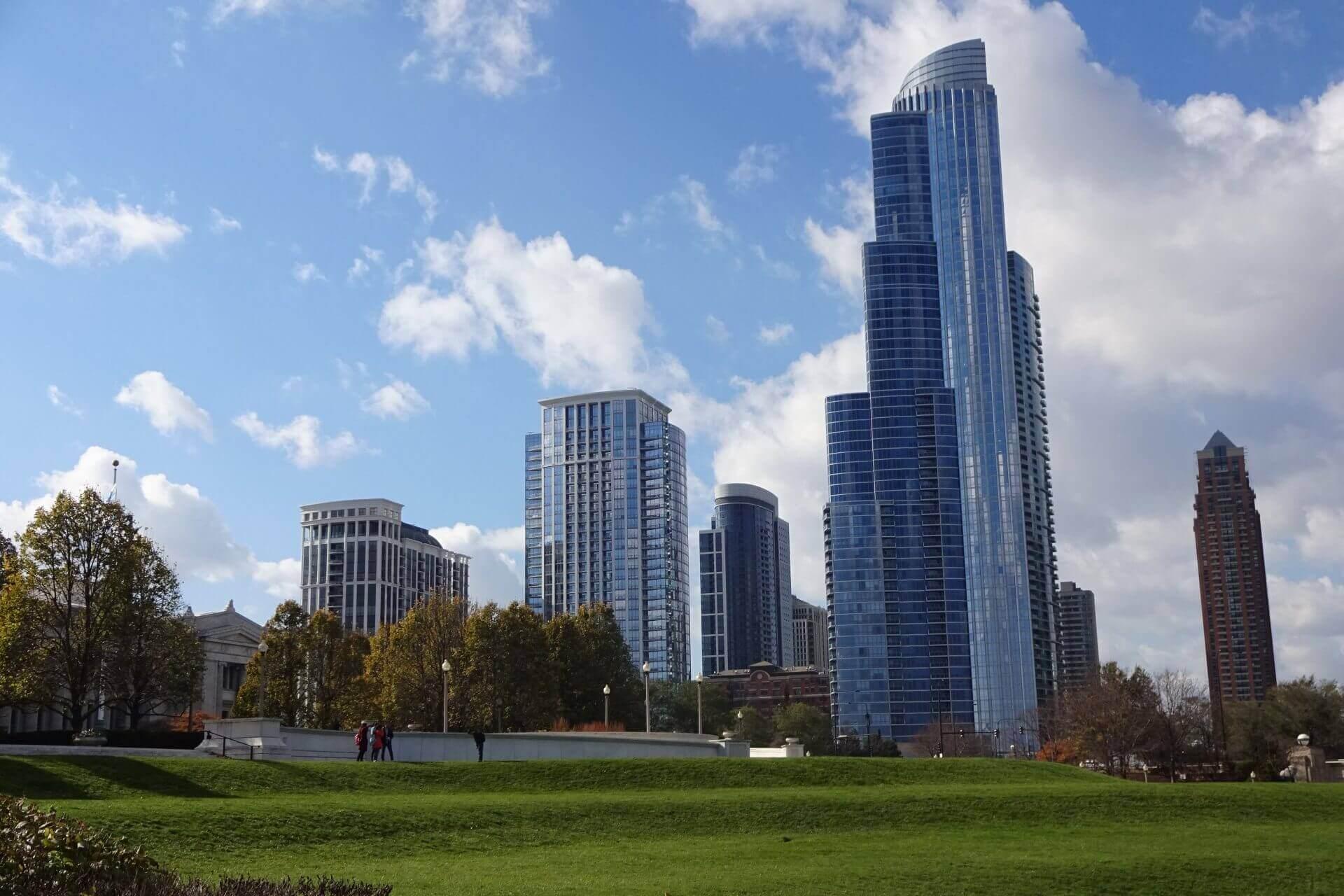 Skyline. Bilder und Eindrücke aus Chicago, Illinois, United States.