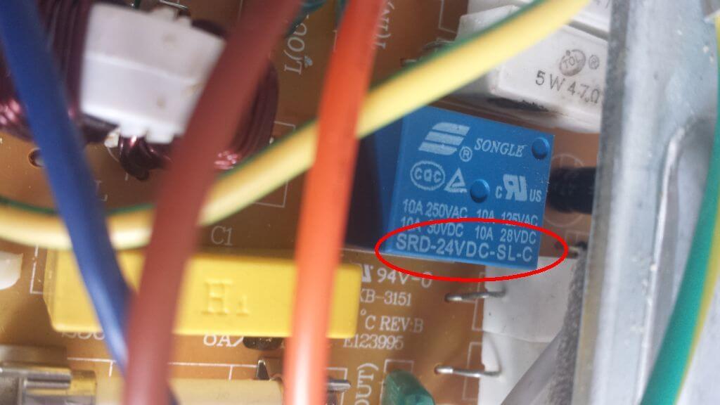 Ausgetauschtes Relais, reparierte Mikrowelle. Die Mikrowelle gibt Rauchzeichen und wärmt nichts mehr auf - eine Reperaturanleitung