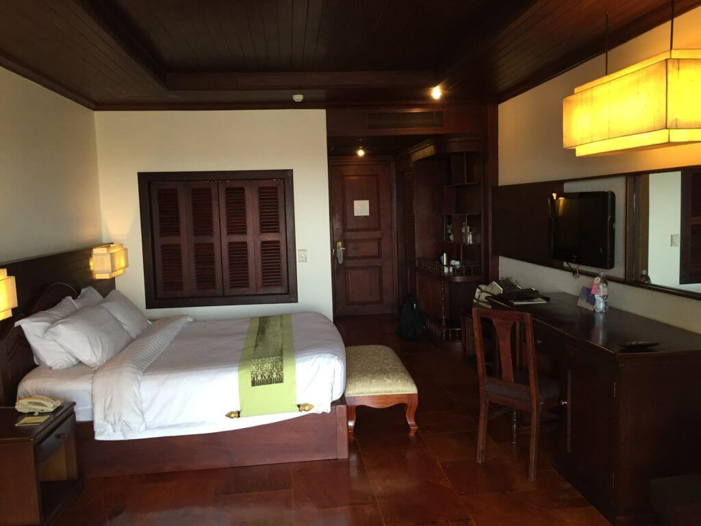Hotelzimmer Borei Angkor Resort und Spa. Bilder und Eindrücke aus Kambodscha - Cambodia, Siem Reap, Angkor Wat, Sihanoukville und Phnom Penh.