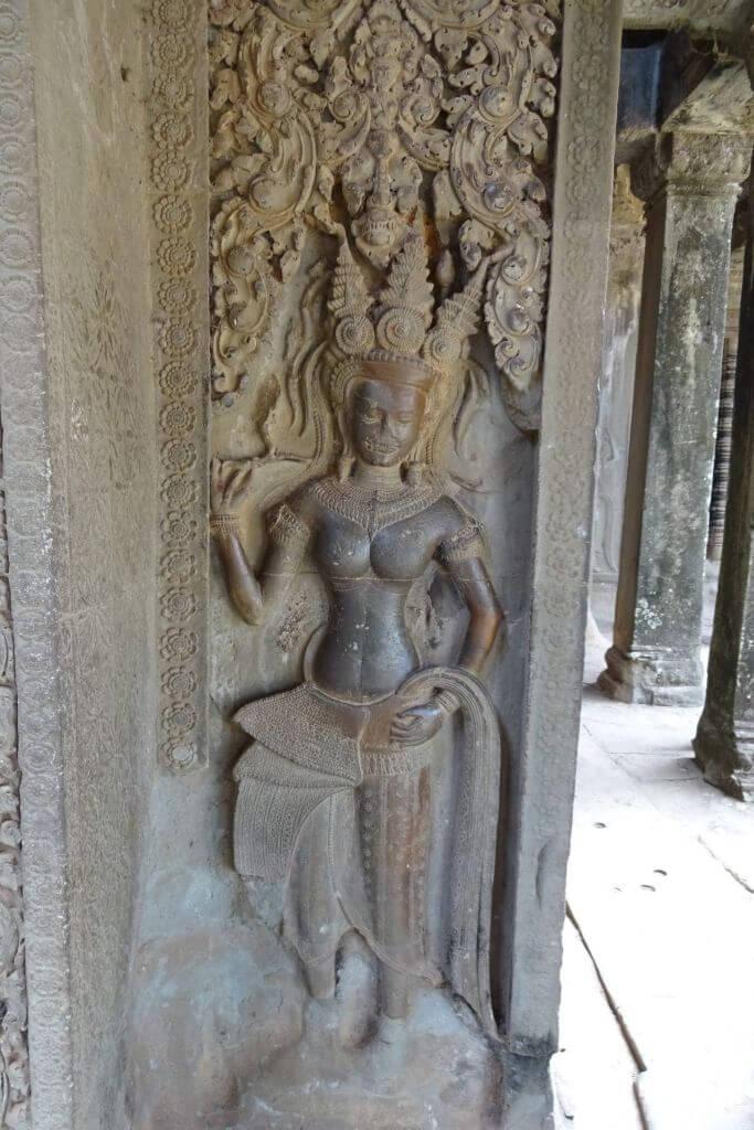 Angkor Wat Relief. Bilder und Eindrücke aus Kambodscha - Cambodia, Siem Reap, Angkor Wat, Sihanoukville und Phnom Penh.