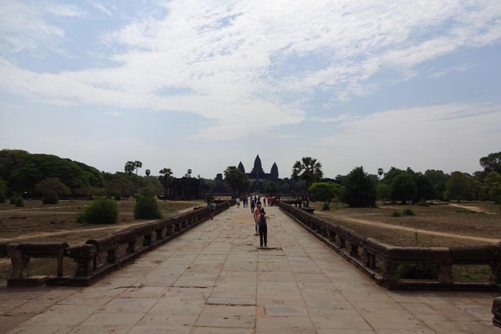 Angkor Wat Innenbereich. Bilder und Eindrücke aus Kambodscha - Cambodia, Siem Reap, Angkor Wat, Sihanoukville und Phnom Penh.
