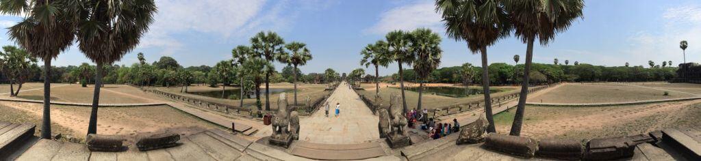 Angkor Wat Panorama. Bilder und Eindrücke aus Kambodscha - Cambodia, Siem Reap, Angkor Wat, Sihanoukville und Phnom Penh.