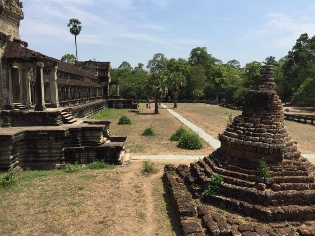 Angkor Wat Rückseite. Bilder und Eindrücke aus Kambodscha - Cambodia, Siem Reap, Angkor Wat, Sihanoukville und Phnom Penh.