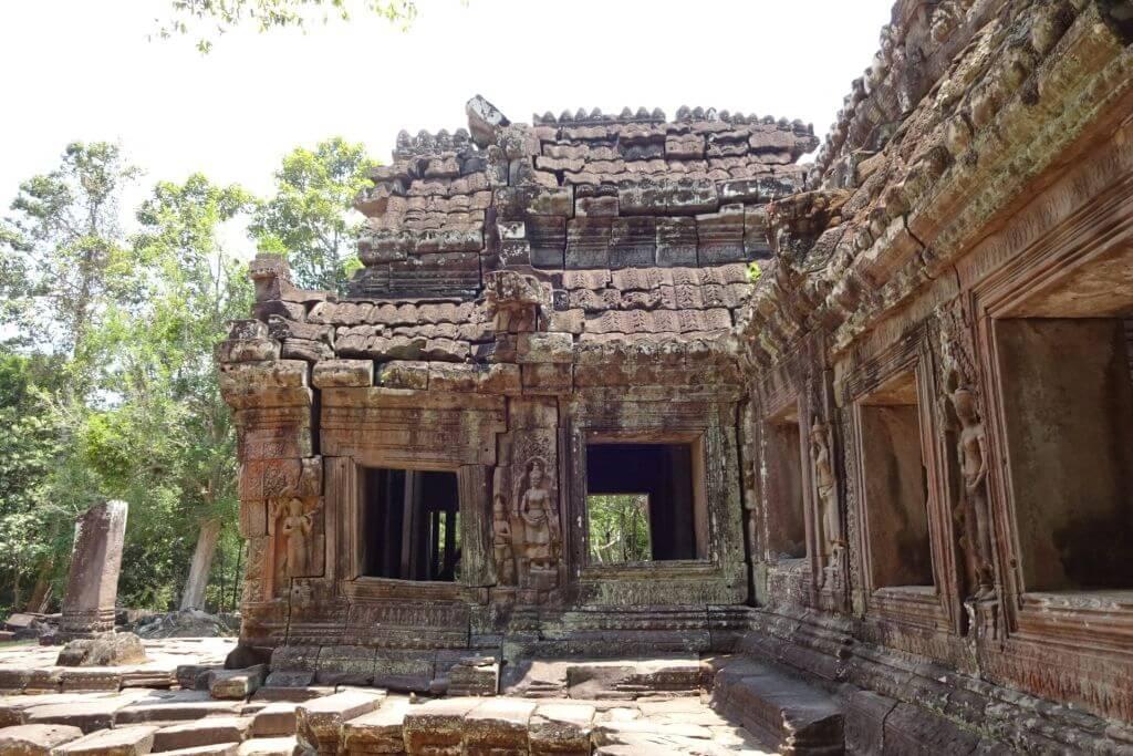 Banteay Kdei Tempel. Bilder und Eindrücke aus Kambodscha - Cambodia, Siem Reap, Angkor Wat, Sihanoukville und Phnom Penh.