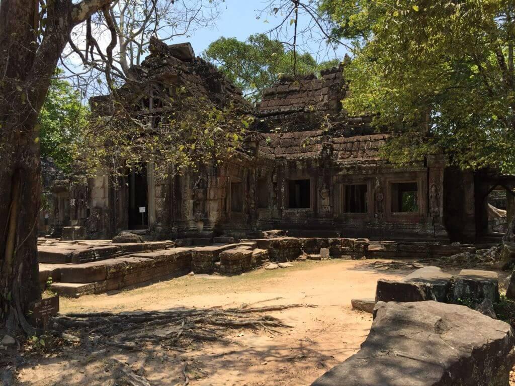 Banteay Kdei Ruine. Bilder und Eindrücke aus Kambodscha - Cambodia, Siem Reap, Angkor Wat, Sihanoukville und Phnom Penh.