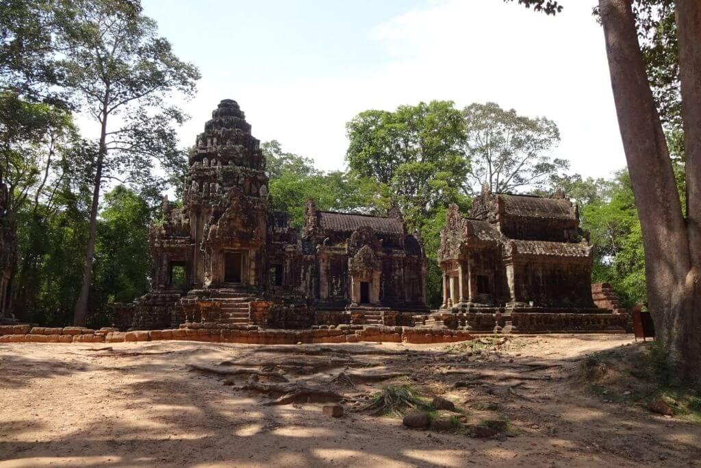 Thommanom Tempel. Bilder und Eindrücke aus Kambodscha - Cambodia, Siem Reap, Angkor Wat, Sihanoukville und Phnom Penh.