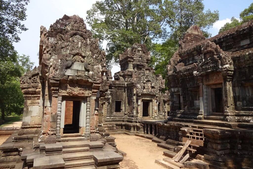 Thommanom Tempel Ruine. Bilder und Eindrücke aus Kambodscha - Cambodia, Siem Reap, Angkor Wat, Sihanoukville und Phnom Penh.