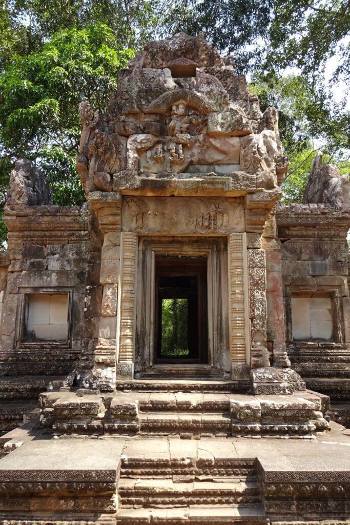 Eingangstor Thommanom Tempel. Bilder und Eindrücke aus Kambodscha - Cambodia, Siem Reap, Angkor Wat, Sihanoukville und Phnom Penh.