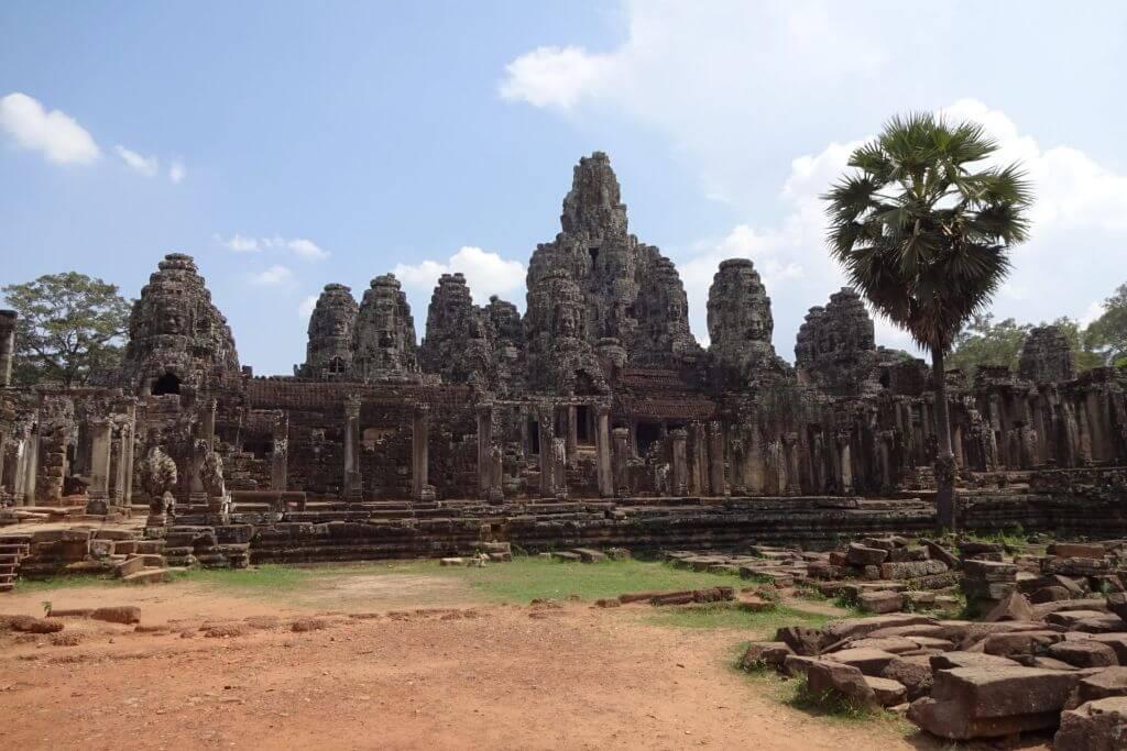 Angkor Thom Außenansicht. Bilder und Eindrücke aus Kambodscha - Cambodia, Siem Reap, Angkor Wat, Sihanoukville und Phnom Penh.