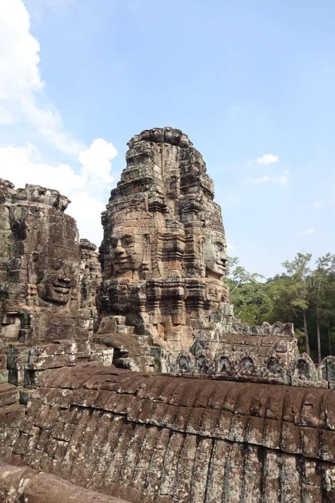 Angkor Thom Tempelanlage. Bilder und Eindrücke aus Kambodscha - Cambodia, Siem Reap, Angkor Wat, Sihanoukville und Phnom Penh.
