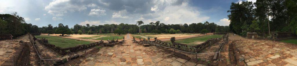 Angkor Thom Elefantenterasse. Bilder und Eindrücke aus Kambodscha - Cambodia, Siem Reap, Angkor Wat, Sihanoukville und Phnom Penh.