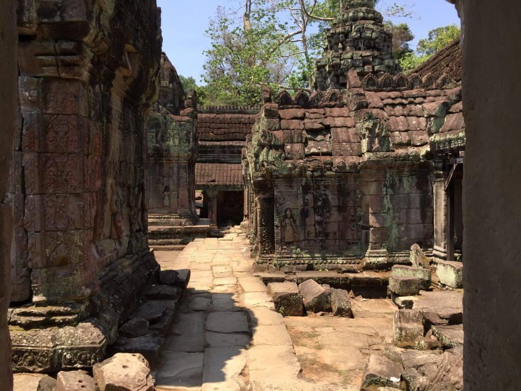 Preah Khan Innenbereich. Bilder und Eindrücke aus Kambodscha - Cambodia, Siem Reap, Angkor Wat, Sihanoukville und Phnom Penh.