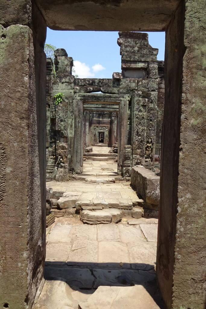Preah Khan endlose Gänge. Bilder und Eindrücke aus Kambodscha - Cambodia, Siem Reap, Angkor Wat, Sihanoukville und Phnom Penh.