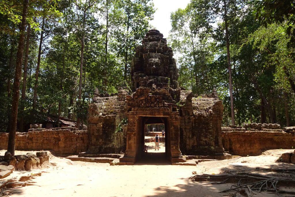 Ta Som Eingangstor. Bilder und Eindrücke aus Kambodscha - Cambodia, Siem Reap, Angkor Wat, Sihanoukville und Phnom Penh.