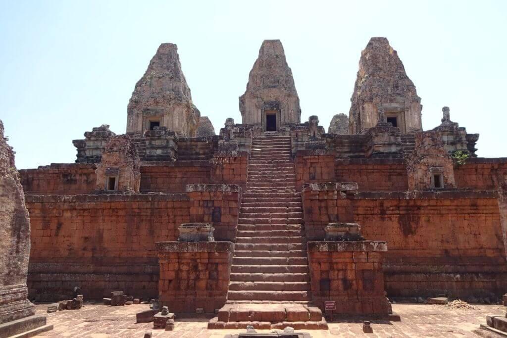 Pre Rup Panorama. Bilder und Eindrücke aus Kambodscha - Cambodia, Siem Reap, Angkor Wat, Sihanoukville und Phnom Penh.