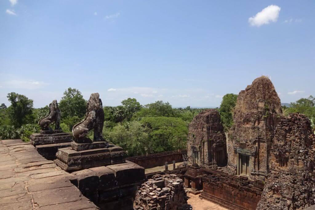 Pre Rup im Dschungel. Bilder und Eindrücke aus Kambodscha - Cambodia, Siem Reap, Angkor Wat, Sihanoukville und Phnom Penh.