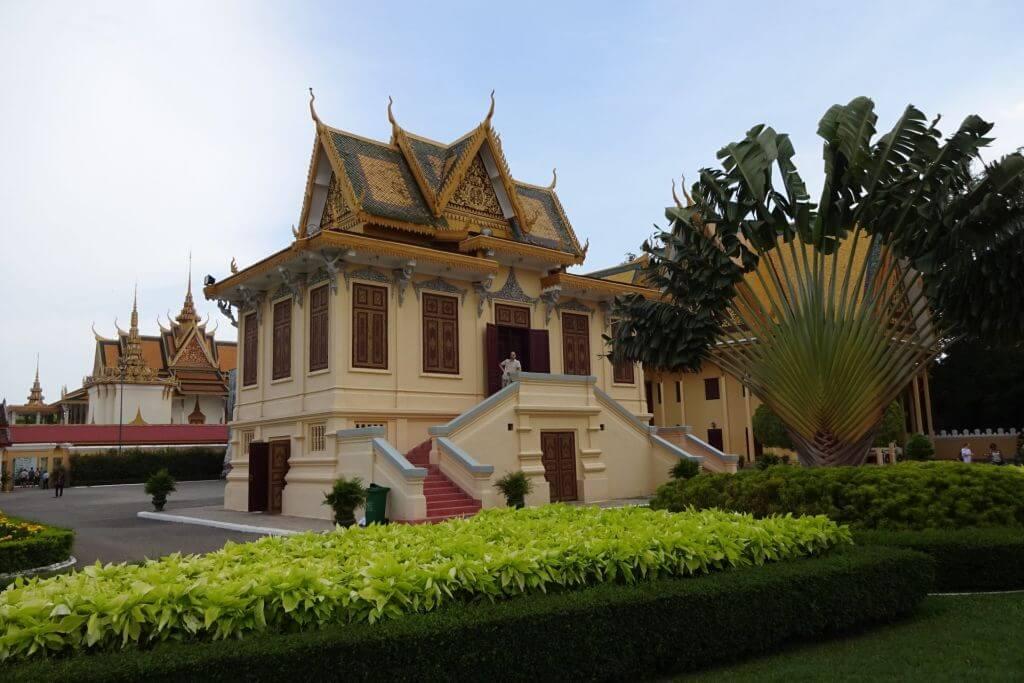 Königspalast in Phnom Penh. Bilder und Eindrücke aus Kambodscha - Cambodia, Siem Reap, Angkor Wat, Sihanoukville und Phnom Penh.